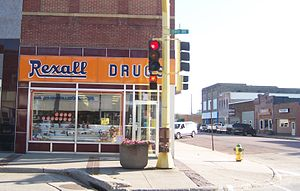 Rexall - Rexall Drug Store at Rock Rapids, Iowa (2006)