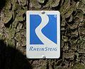 Rheinsteig Schild 2011.jpg
