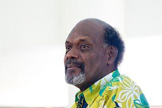 Serge Vohor Prime Minister of Vanuatu