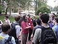 Richard Stallman with Wikimaniacs.jpg