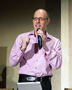 Richard Wiseman-Emcee-CSICON 2012-Nashville-Opening Remarks-OCT 26 2012.JPG