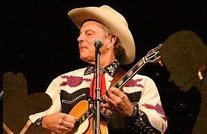 Riders in the Sky (band) - Ranger Doug (Douglas B. Green) performs at the Poncan Theatre in Ponca City, Oklahoma on November 7, 2008