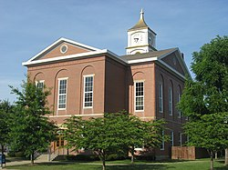 Ripley County Courthouse in Versailles is listed on the National Register of Historic Places
