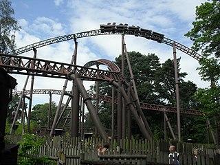 Rita (roller coaster) Roller coaster in Staffordshire Moorlands, England