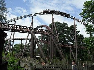 Rita (roller coaster) - Image: Rita (Alton Towers)