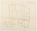 Ritning över Schloss Hallwyl - Hallwylska museet - 102192.tif