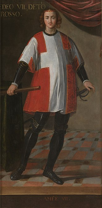 Amadeus VII, Count of Savoy - Image: Ritratto di Amedeo VII Google Art Project