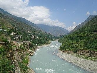Madyan, Pakistan - Suvastu river Madyan