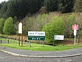 Road sign at the junction of A713 and minor road. - geograph.org.uk - 1329808.jpg