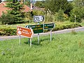 Roadsigns on the A143 Beccles Road - geograph.org.uk - 1439646.jpg