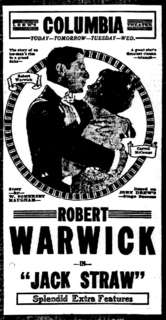 <i>Jack Straw</i> (1920 film) 1920 film by William C. deMille