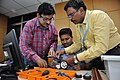Robot Building Session - Workshop on Organising Indian and World Robot Olympiad - NCSM - Kolkata 2016-03-08 2383.JPG