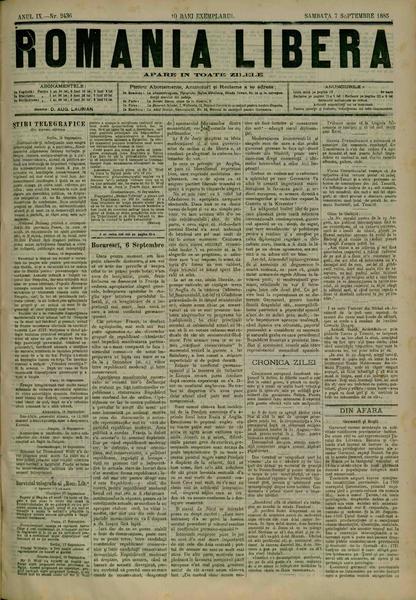 File:România liberă 1885-09-07, nr. 2436.pdf