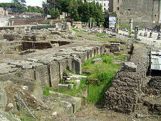 Forum of Nerva - Image: Roma Foro Nerva Fondazioni W