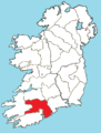 Roman Catholic Diocese of Cloyne map.png