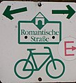 Romantische Strasse Fahrradweg Beschilderung.jpg