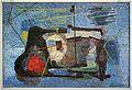 Romolo papa su dis. di giuseppe santomaso, il muro del pescatore, 1954 (1959).jpg