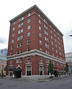 Roosevelt Hotel Building Portland Oregon 2017 Jpg