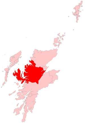 Ross, Skye and Inverness West (Scottish Parliament constituency) - Image: Ross Skye and Inverness West Scottish Parliament Constituency