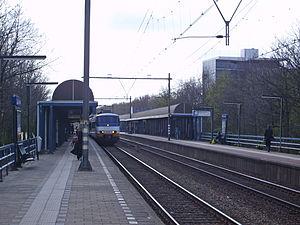 Rotterdam Alexander station - Rotterdam Alexander, railway platforms.