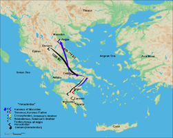 Route of Karanos to establish his own kingdom.png