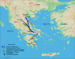 Route of Karanos to establish his own kingdom.png
