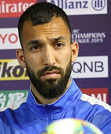 Rouzbeh Cheshmi, Esteghlal-Duhail press conference 20190505.jpg