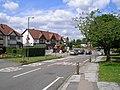 Row of shops at Yew Tree Lane-Cornyx Lane-Damson Lane junction - geograph.org.uk - 1398075.jpg