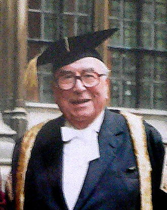 Roy Jenkins - Roy Jenkins robed as Chancellor of Oxford University