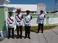 Royal Bermuda Regiment at St. James' Church in Somerset