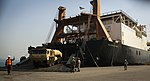 Royal Thai Navy and U.S. Service Members Offload from the USNS Maj. Stephen W. Pless 160128-M-AR450-202.jpg