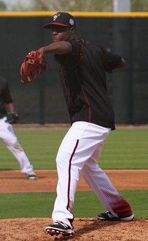 Rubby De La Rosa - De La Rosa with the Diamondbacks in 2016