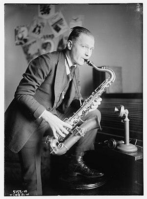 Rudy Wiedoeft - Wiedoeft in 1920