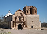 Ruins of the Franciscan church at Mission San José de Tumacácori (6127855296).jpg