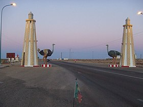 Ruta N1 a la salida de Bojador (Sahara Occidental).jpg