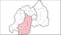 Rwanda SouthProvDists.png