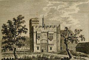 Rye House, Hertfordshire - Image: Rye House 1777 Forster 1
