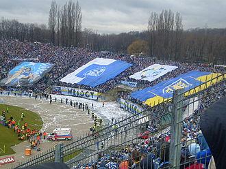 Ruch Chorzów - Derby against Górnik Zabrze (2008)