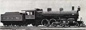 South African Class 10D 4-6-2 - CSAR no. 1002, SAR no. 779, c. 1910