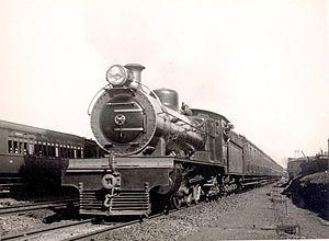 South African Class 16A 4-6-2 - Image: SAR Class 16A 852 (4 6 2) a