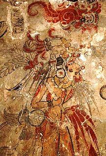 Mayan arqueological site in Guatemala