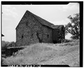 SIDE AND REAR ELEVATIONS - Stone Barn, circa 1795, Route 342, South of Wawaset Bridge, Wawaset, Chester County, PA HABS PA,15-WAWA,1A-3.tif