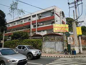 Aurora Boulevard - St. Paul University Quezon City