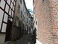 STAVELOT rue du Vinâve 4-6 (façade arrière rue de la Fontaine) (de gauche à droite) (7-2013).JPG