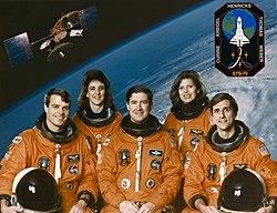 v.l.n.r. Kevin Kregel, Nancy Currie, Terence Henricks, Mary Weber, Donald Thomas