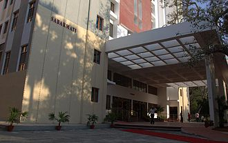 Indian Institute of Technology Madras - Entrance View of Newly opened Sabarmathi Hostel