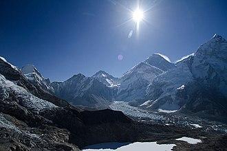 Khumbutse - Image: Sagarmatha National Park Gorak Shep to Pheriche 2013 05 06 08 05 31
