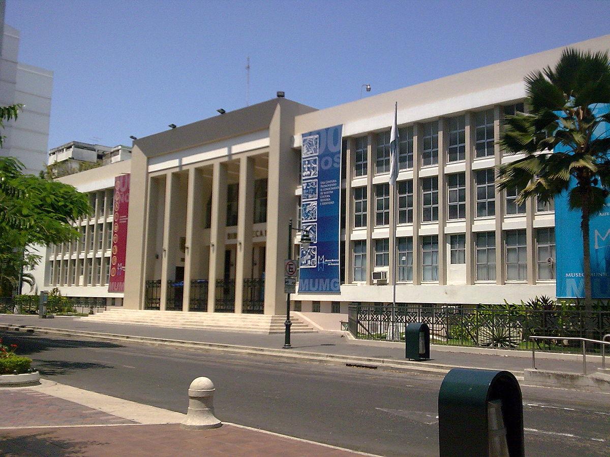 Biblioteca municipal de guayaquil wikipedia la for Casas municipio guayaquil
