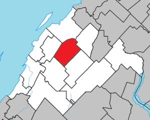 Saint-Épiphane, Quebec - Image: Saint Épiphane Quebec location diagram