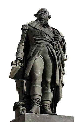 Pierre André de Suffren - Suffren's statue in Saint Tropez.